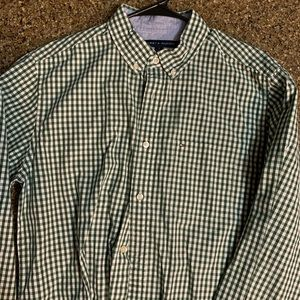 Tommy Hilfiger Green button down casual shirt